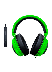 Razer Kraken Wired Over-Ear Noise Cancelling Headphones, Neon Green/Black