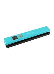 Iris IRIScan Anywhere 5 Business Card Scanners, 1200DPI, TFT Color Display, Turquoise