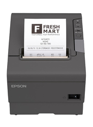 Epson Thermal POS TM-T88V Receipt Printer, Dark Grey