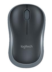 Logitech M185 USB Optical Wireless Mouse, Grey