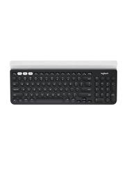 Logitech K780 Multi-Device Wireless English Keyboard, Black/White