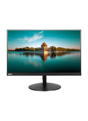Lenovo ThinkVison 23.8 Inch Full HD LED Monitor, T24i, Black
