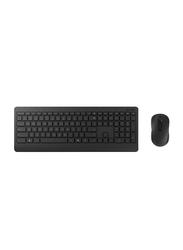 Microsoft 900 Wireless English Keyboard and Mouse, Black