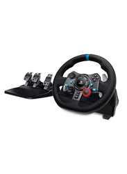 Logitech G29 Driving Force Racing Wheel for PlayStation PS4 PS3 and PC, Black