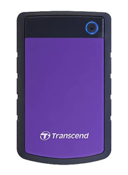 Transcend 4TB HDD StoreJet 25H3P External Desktop Hard Drive, USB 3.0, TS4TSJ25H3P, Purple