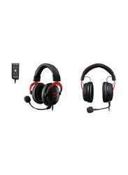 Hyperx Gaming Wired Over-Ear Noise Cancelling Headphones, Black