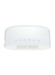 D-Link DGS-1005D 5-Port Gigabit Unmanaged Desktop Switch, White