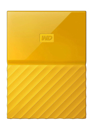 Western Digital 4TB HDD My Passport Portable External Hard Drive, USB 3.0, WDBYFT0040BYL, Yellow