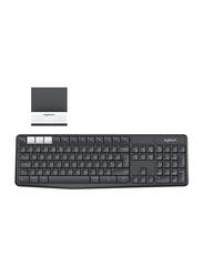 Logitech K375s Wireless English Keyboard, Black