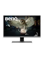 BenQ 31.5 Inch 4K Ultra HD LCD Gaming Monitor, EW3270U, Metallic Grey