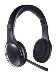 Logitech H800 Wireless On-Ear Noise Cancelling Headphones, Black