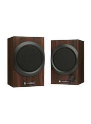 Logitech Z240 2.0 Multimedia Speakers, Brown