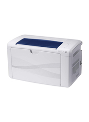Xerox Phaser 3010 Monochrome Laser Printer, Blue/White