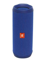 JBL Flip 4 Water Submerge Resistant Wireless & Wired Portable Bluetooth Speaker, Blue
