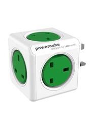 Allocacoc 7100 UKORPC Universal PowerCube, Green