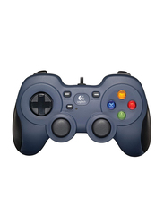 Logitech F310 Dual Action Wired Gamepad for PC, 940-000111, Blue
