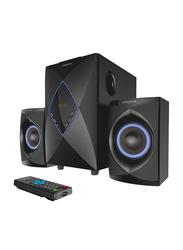 Creative E2800 Wired 2.1 Home Entertainment Speaker, Black