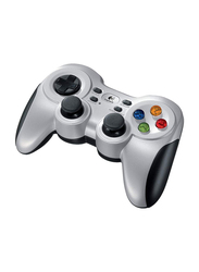 Logitech F710 Wireless Game Pad for PlayStation PS3 PS2 and PC, with 2.4 GHz Nano-Receiver, Silver/Black
