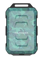 Rav Power 10050mAh RP-PB044 2.0 USB Ports & Flashlight, Water Proof, Shock Proof, Camouflage