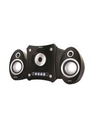 Intex IT-900 Wireless & Wired Multimedia Bluetooth Speaker, Black