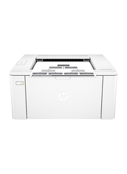 HP Laserjet Pro M102A Laser Printer, White
