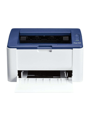 Xerox Phaser 3020 Monochrome Laser Printer, Blue/White