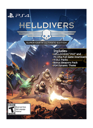 Helldivers Super-Earth Ultimate Edition for PlayStation 4 (PS4) by Sony