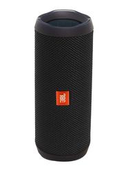 JBL Flip 4 Water Submerge Resistant Wireless & Wired Portable Bluetooth Speaker, Black