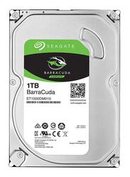 Seagate 1TB HDD BarraCuda ST1000DM010 Internal Hard Drive, 64MB Cache 3.5 Inch SATA, Silver