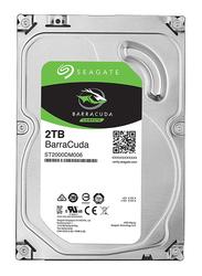 Seagate 2TB HDD BarraCuda ST2000DM006 Internal Hard Drive, 64MB Cache 3.5 Inch SATA, Silver