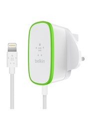 Belkin F8J204DR06 Wall Charger Lightning Cable, White