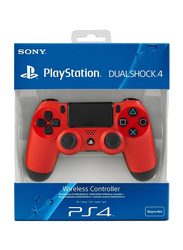 Sony DualShock 4 Wireless Controllers for PlayStation PS4, Red