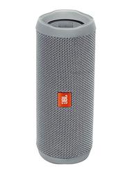 JBL Flip 4 Water Submerge Resistant Wireless & Wired Portable Bluetooth Speaker, Grey