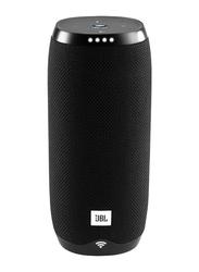 JBL Link 10 Water Submerge Resistant Wireless & Wired Portable Bluetooth Speaker, Black