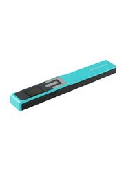 IRIScan Book 5 Handheld Mobile Scanner, 300/600/1200DPI, Turquoise