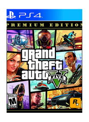 Grand Theft Auto V Premium Edition for PlayStation 4 (PS4) by Rockstar Games
