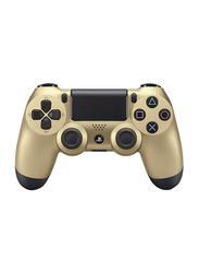 Sony DualShock 4 Wireless Controllers for PlayStation PS4, Gold/Black