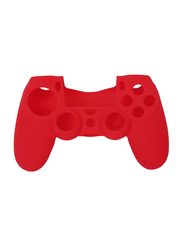 DualShock Controller Silicon Skin Cover Case Protection for PlayStation PS4, Red