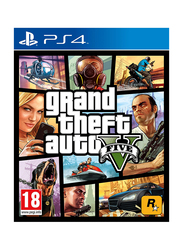 Grand Theft Auto V for PlayStation 4 (PS4) by Rockstar Games