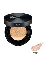 The Face Shop FMGT Ink Lasting Cushion SPF30 PA++, V201 Apricot Beige