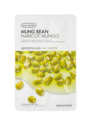 The Face Shop Real Nature Mung Bean Face Mask, 20gm