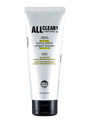 The Face Shop All Clear All in-one Foaming Cleanser, 150ml