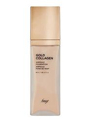 The Face Shop FMGT Gold Collagen Ampoule Foundation, 40ml, 203, Beige