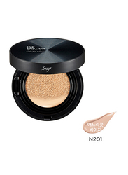 The Face Shop FMGT Ink Lasting Cushion SPF30 PA++, N201 Apricot Beige