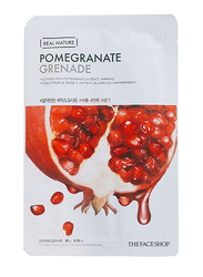 The Face Shop Real Nature Pomegranate Sheet Mask, 30ml