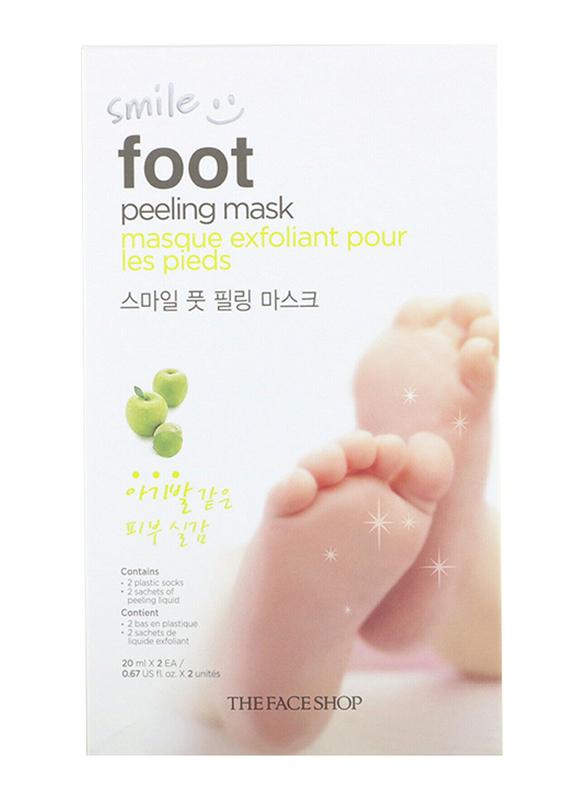 The Face Shop Smile Foot Peeling Mask, 40ml