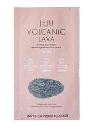 The Face Shop Jeju Volcanic Lava Calming Nose Strips 2020 Set, 7-Piece