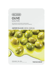 The Face Shop Real Nature Olive Face Mask, 20gm