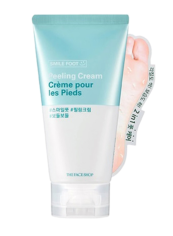 The Face Shop Smile Foot Peeling Cream, 120ml