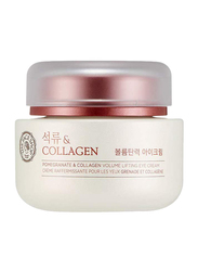 The Face Shop Pomegranate and Collagen Volume Lifting Eye Cream, 50ml
